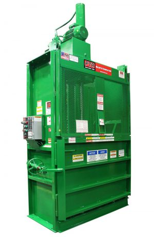 2300HD_PTR_vertical_baler_Hydraulic_Recyling