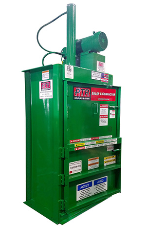 324_PTR_vertical_baler_Hydraulic_Recyling