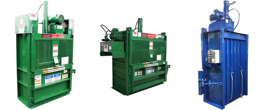 vertical_hydraulic_cardboard_balers