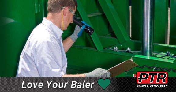 hydraulic baler, vertical baler, ptr baler, compactor, recycling baler, philadelphia baler