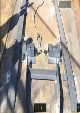 weight scale, compactor, baler