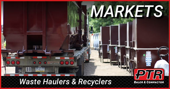 hauler, recycling, waste equipment, compactor, vertical baler