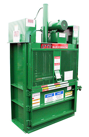 baler, recycling, sustainability, vertical baler