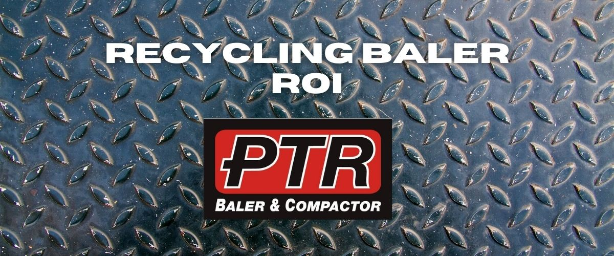 recycling baler, recycling, bale, waste diversion, sustainability, waste compactor, trash compactor